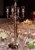 Rental store for CANDELABRA 5 BRANCH SILVER 40  TALL in Sudbury ON