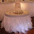 Rental store for WHITE SKIRT 14  SHRED ORGANZA in Sudbury ON