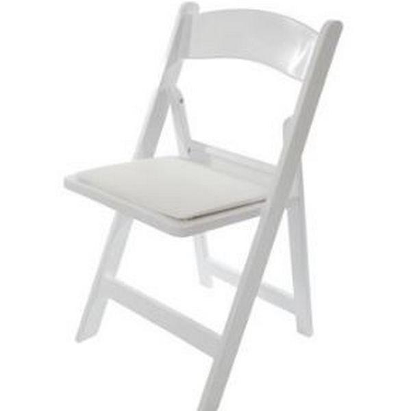 Chair Children S Folding White Padded Rentals Sudbury On