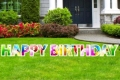 Rental store for HAPPY BIRTHDAY LETTER SIGN in Sudbury ON