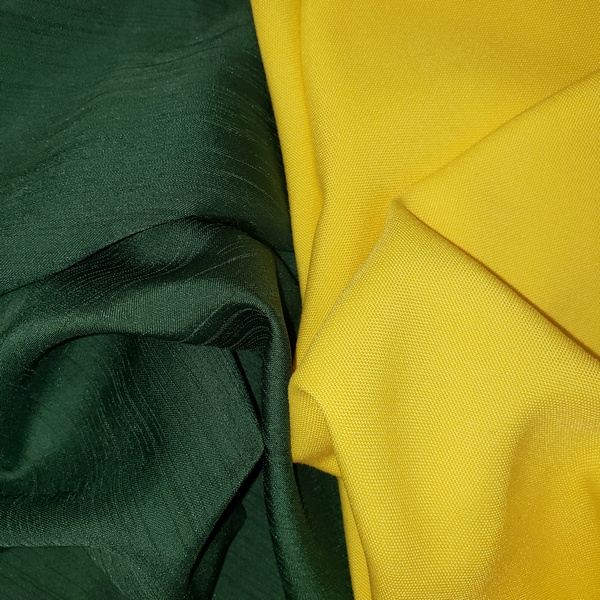 Rent Tablecloths Green & Yellow
